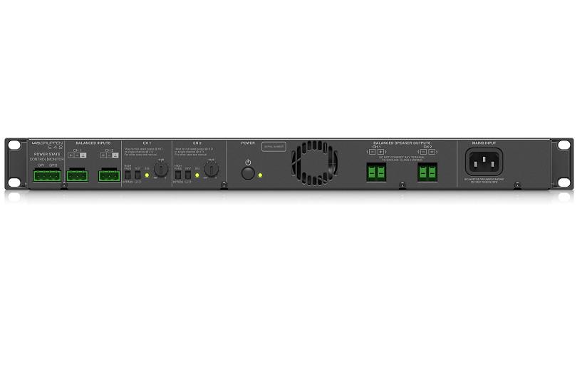 Đẩy công suất Lab.Gruppen E 4:2 Amplifier-Hàng Chính Hãng