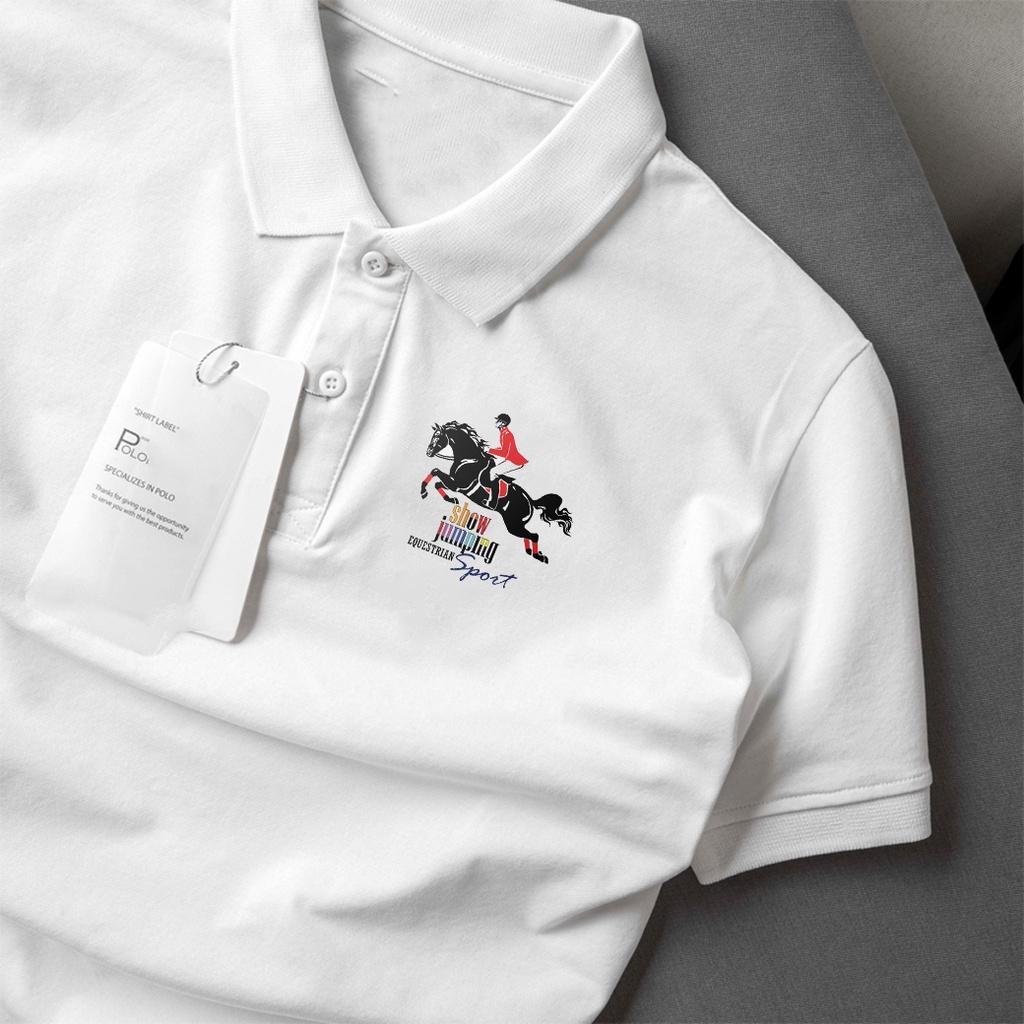 Áo polo nam , cổ dệt bo len ,áo thun nam có cổ tay ngắn thanh lịch POLO-27 - Soha Clothing