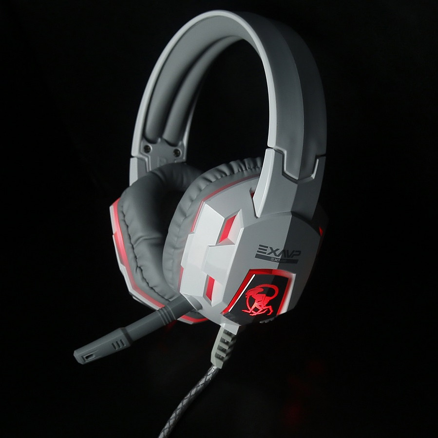 Headphone EXAVP Cao Cấp Gaming/DJ EX500 LED 7 màu FullBox - Hàng Chính Hãng