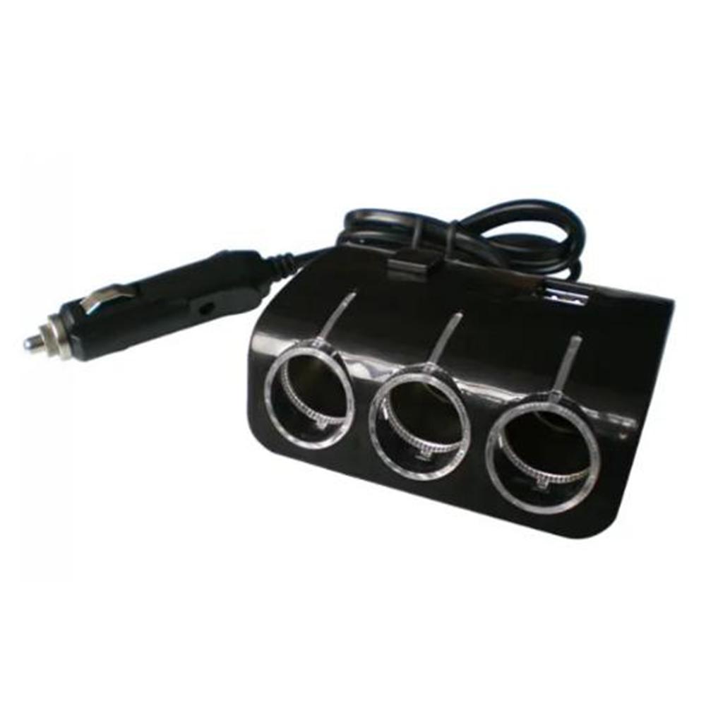 Bộ Chia 3 Tẩu 12v-24v 2 Cổng Sạc USB SPW03