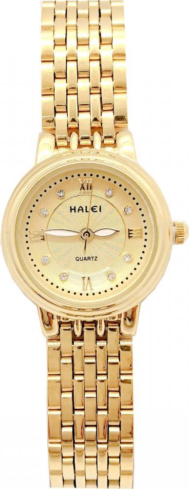 Đồng hồ Nữ Halei cao cấp - HL494 Dây vàng - Vàng