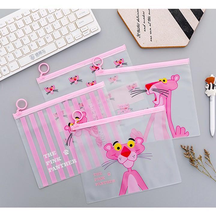 Túi đựng tài liệu nhìn xuyên hình con báo dễ thương – Cặp sách nhìn xuyên hình con báo cute