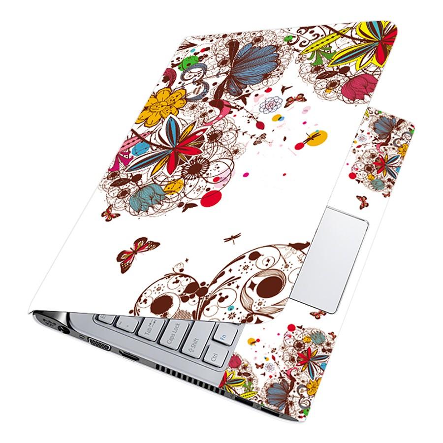 Miếng Dán Decal Dành Cho Laptop Mẫu Hoa Văn LTHV-120