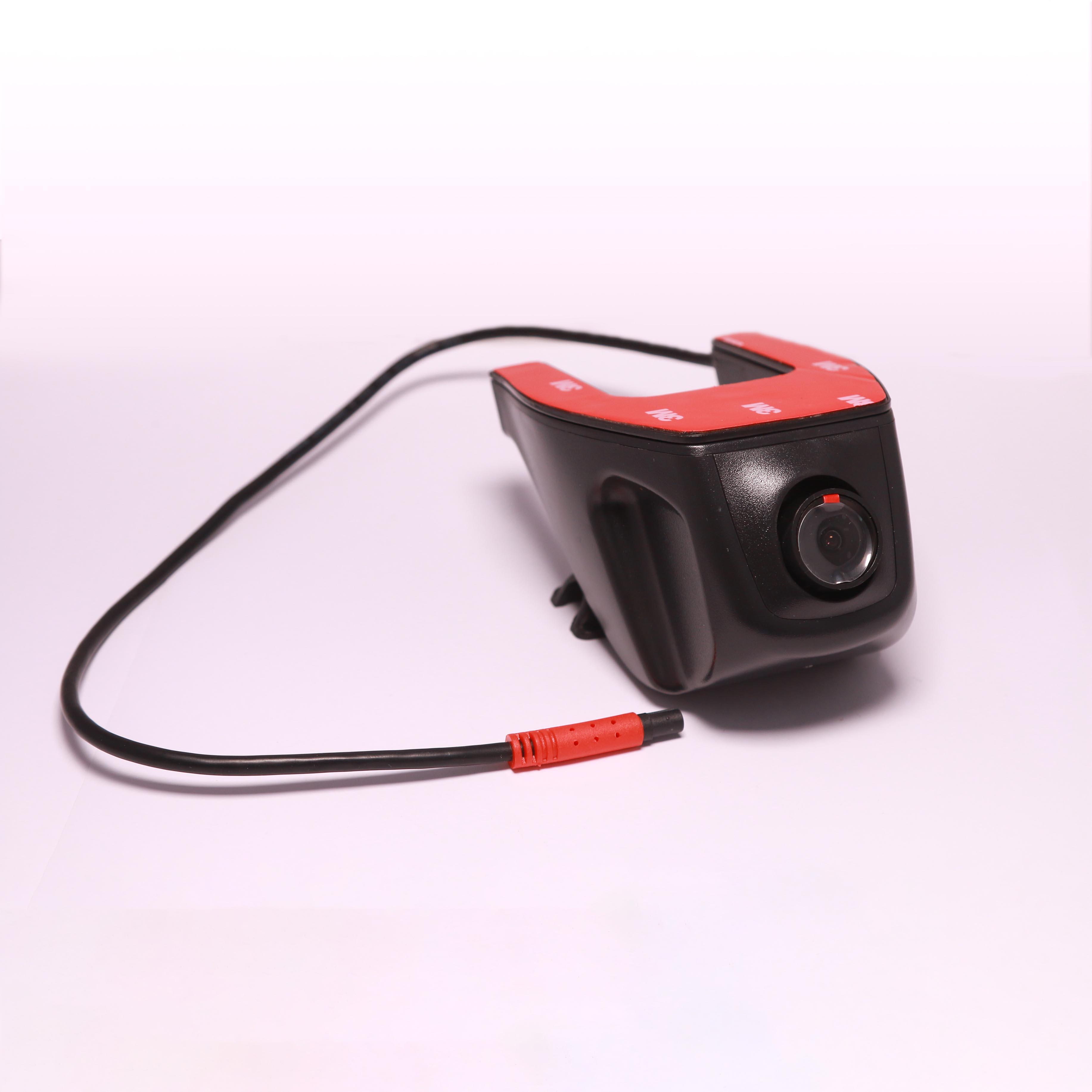 Camera hành trình ốp chân gương chiếu hậu A18 CKY-300 kết nối với màn Android qua cổng USB