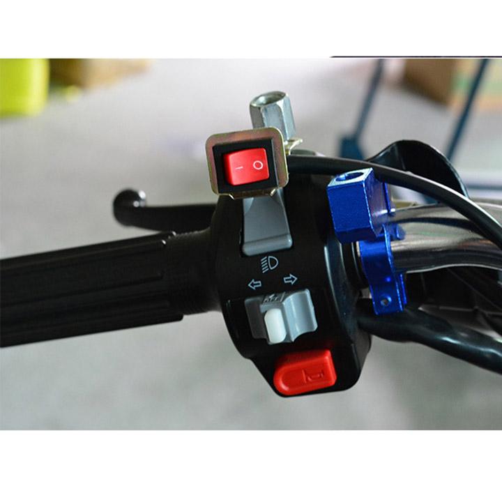 Công tắc On Off có pat chân gương ( làm công tắc kèn ,đèn led trợ sáng ) Green Networks Group