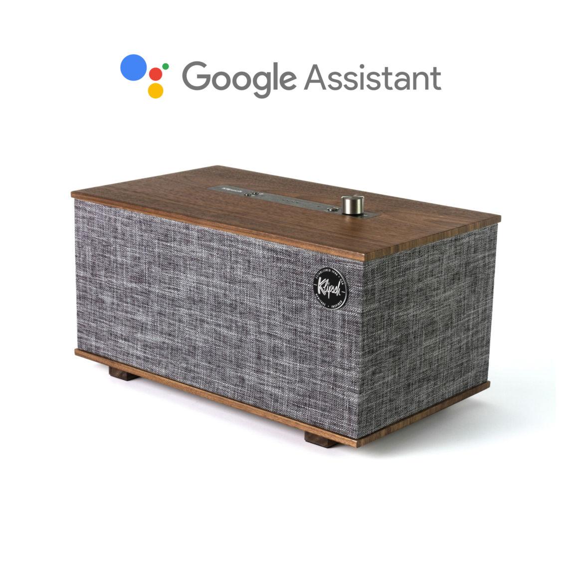 Loa Bluetooth KLIPSCH THE THREE WITH GOOGLE ASSISTANT - Hàng chính hãng