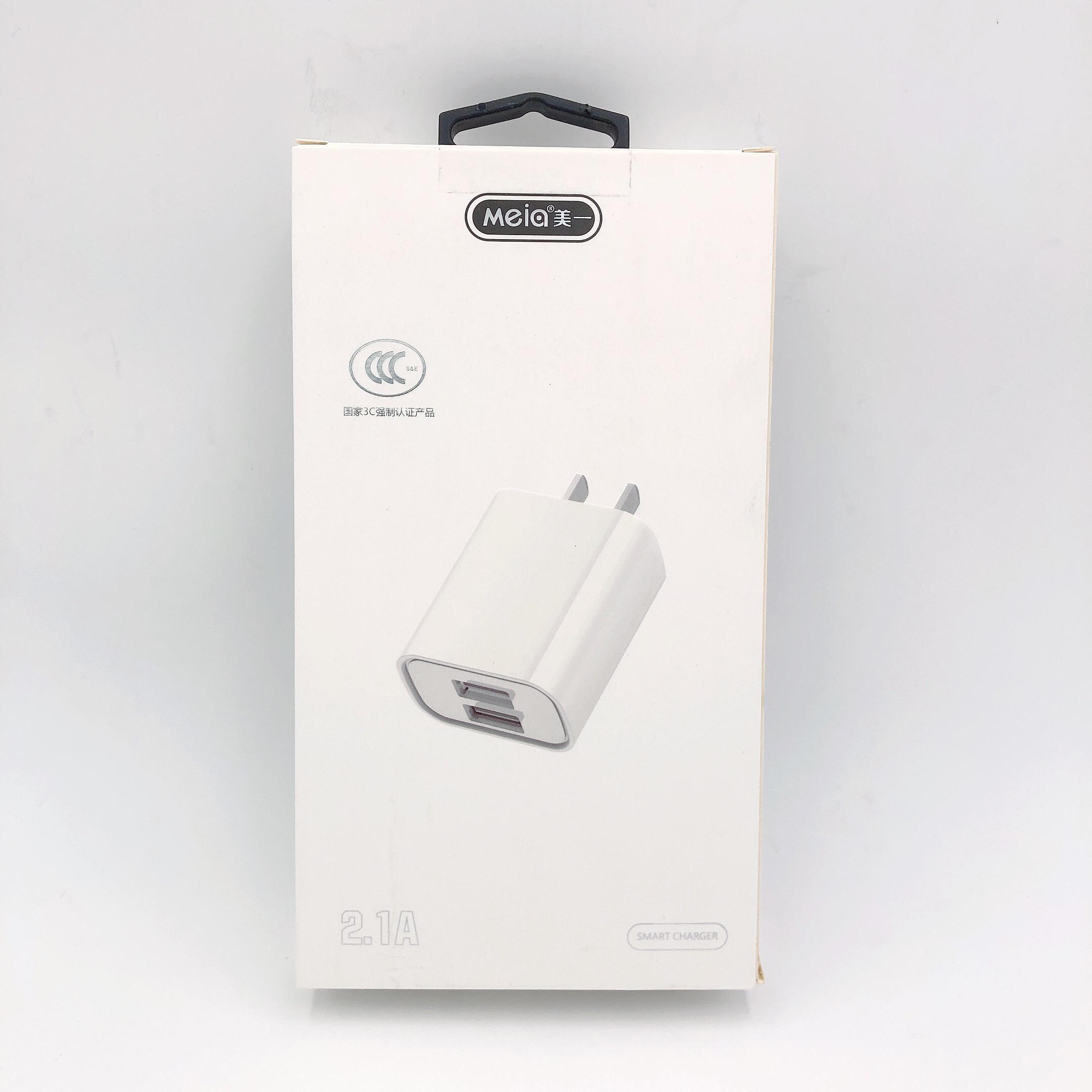 Củ Sạc 2 Cổng USB Hỗ Trợ Sạc Nhanh Meia C318 - Hàng chính hãng