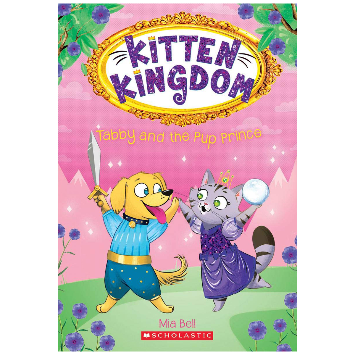 Tabby and the Pup Prince (Kitten Kingdom #2)