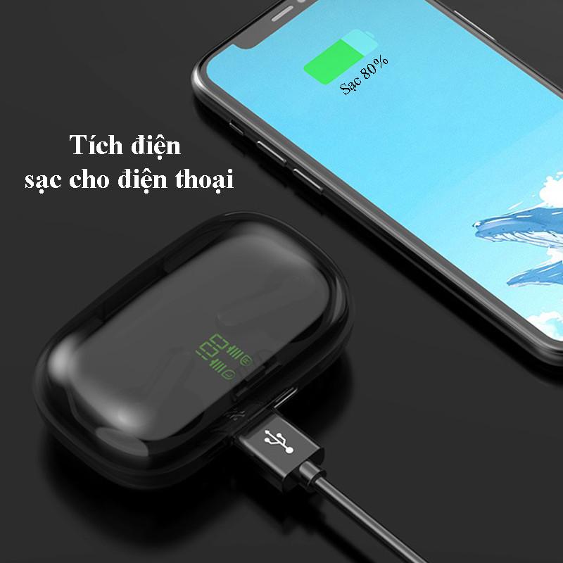 Tai Nghe Bluetooth nhét tai TWS earbuds 267 Nghe nhạc, đàm thoại - Hàng chính hãng