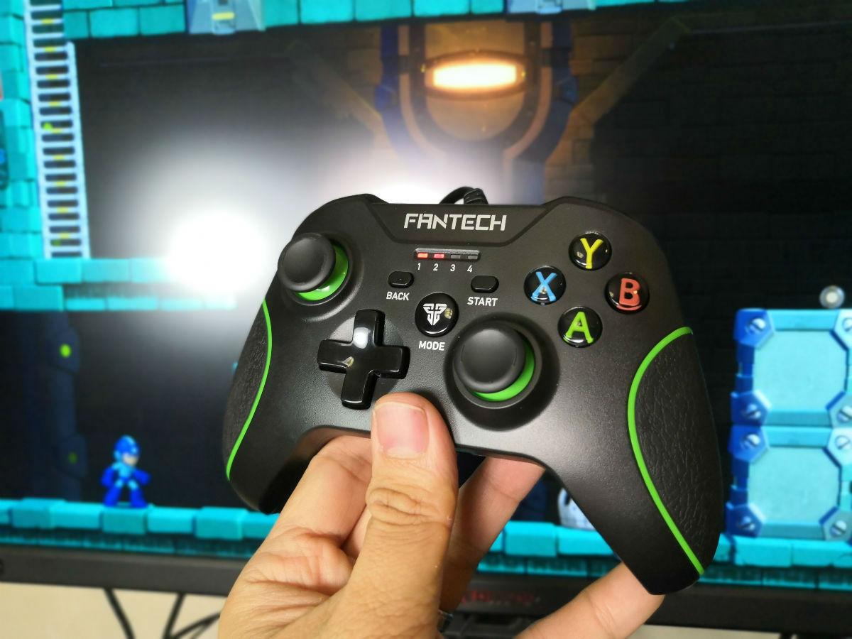 Tay cầm chơi game đa chức năng có dây Fantech SHOOTER GP11 - Hàng chính hãng