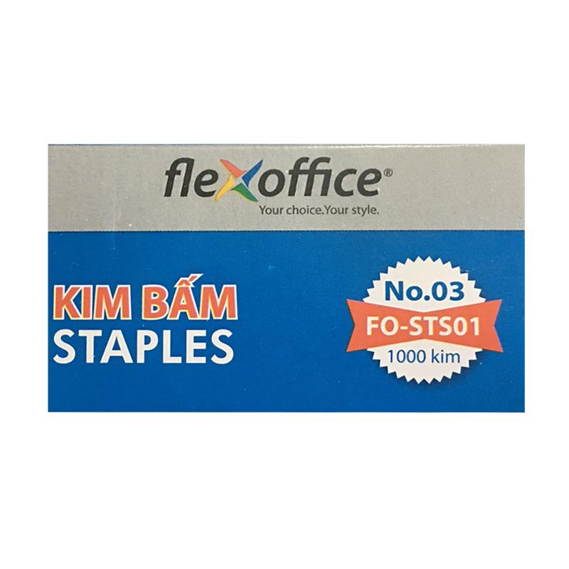 Hộp 10 Kim Số 3 Flexoffice Fo-Sts01