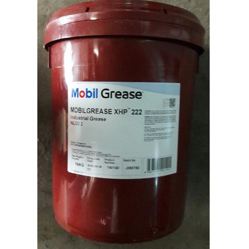 Mỡ bôi trơn Mobilgrease XHP 222 16kg -  Mỡ Mobilgrease
