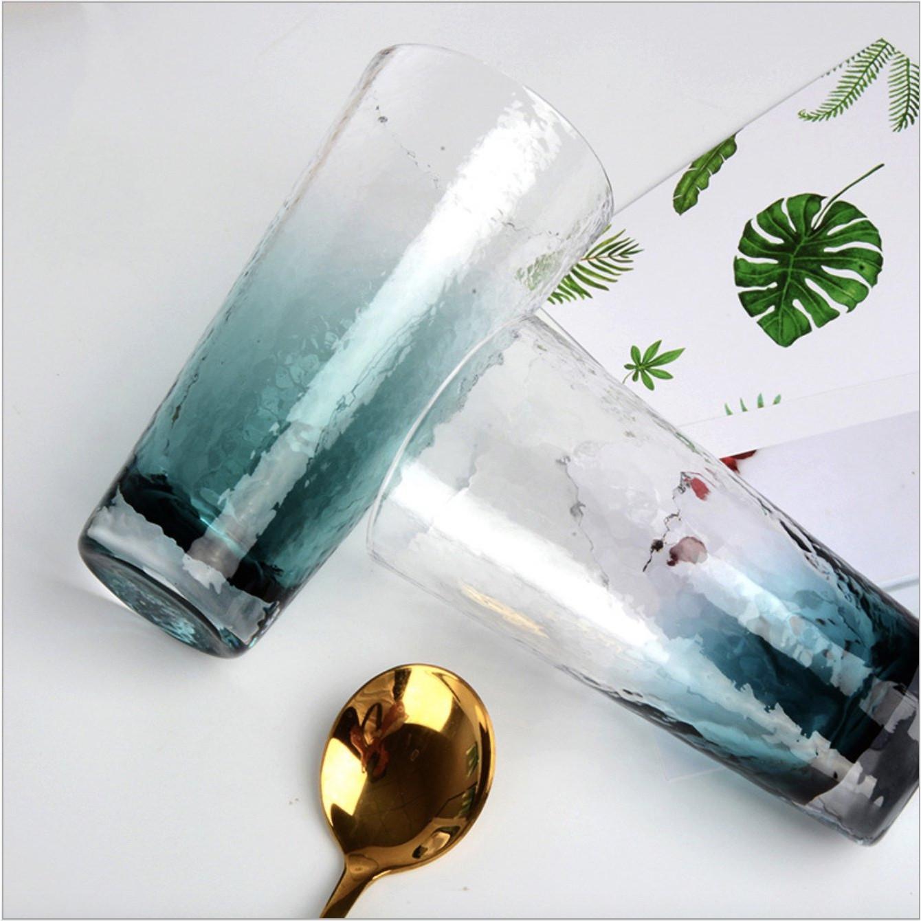 LY thuỷ tinh uống nước hoạ tiết đẹp mắt 3-D-A16-T2207