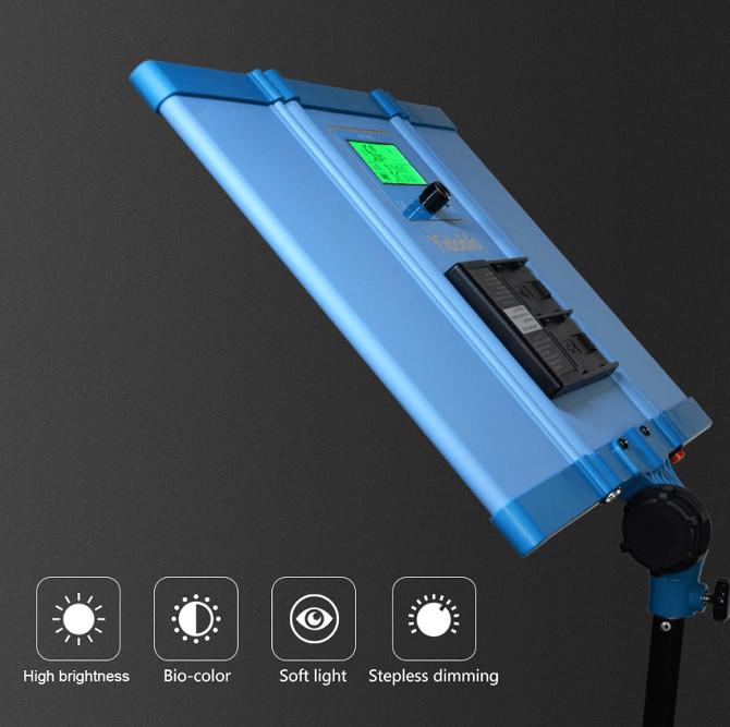 Bộ 3 đèn led bảng Studio 288w ZD-100E Yidoblo hàng chính hãng.