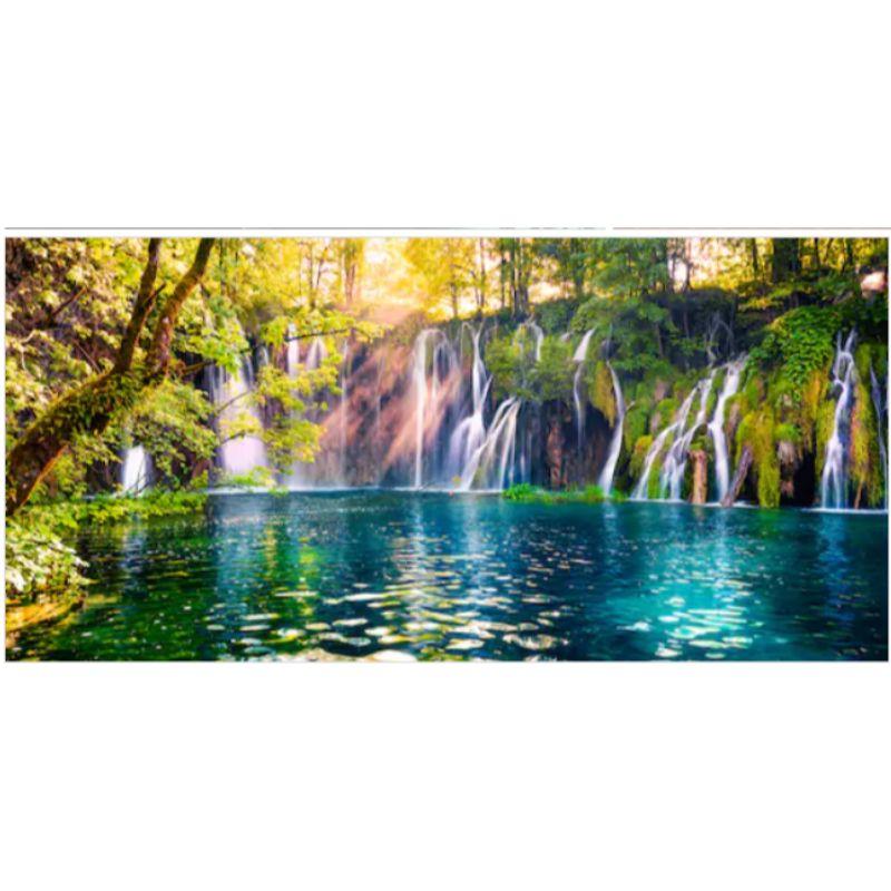 Tranh dán tường cửa sổ 3D | Tranh trang trí 3D | Tranh phong cảnh đẹp 3D | T3DMN_T6_249