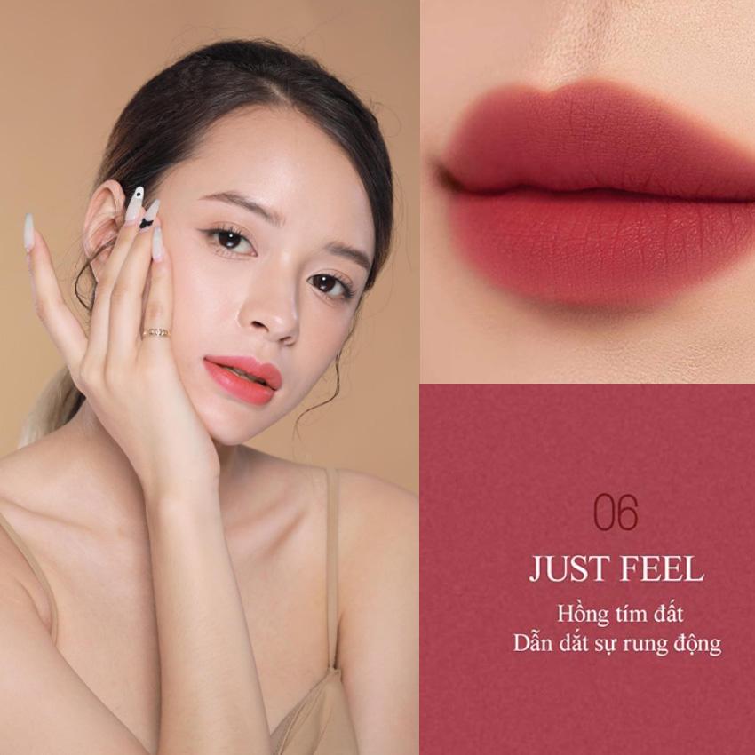 Combo 2 Son BBiA Last Powder Lipstick tặng 1 túi trang điểm hologram 3.5g