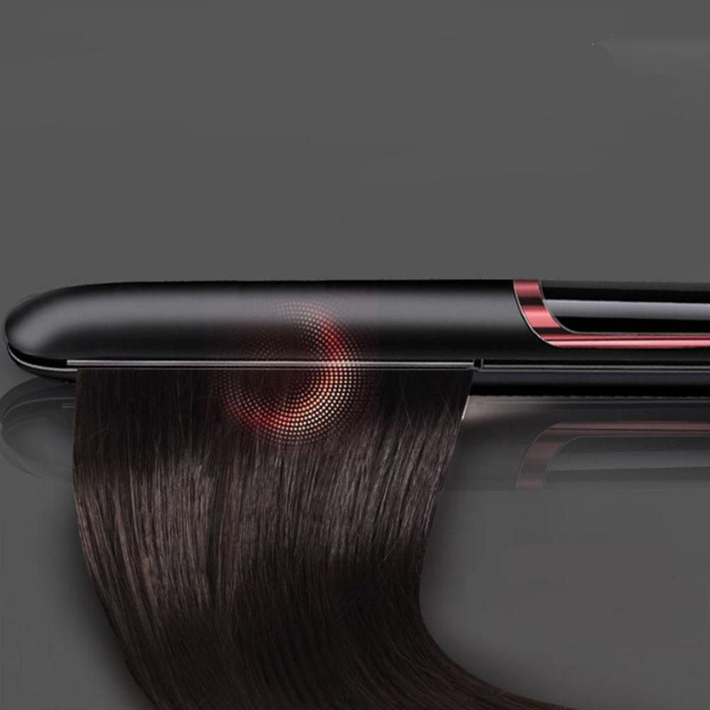 Máy Uốn Xoăn, Ép Cụp, Là Thẳng Tóc Đa Năng 3 Trong 1 Cao Cấp Sang Trọng Kiểu Hàn Quốc - Kết Hợp Duỗi Và Tạo Kiểu Tóc Thông Minh – Dùng Cho Salon Tóc & Tại Nhà Màu Trắng Đen Tặng lắc tay E375