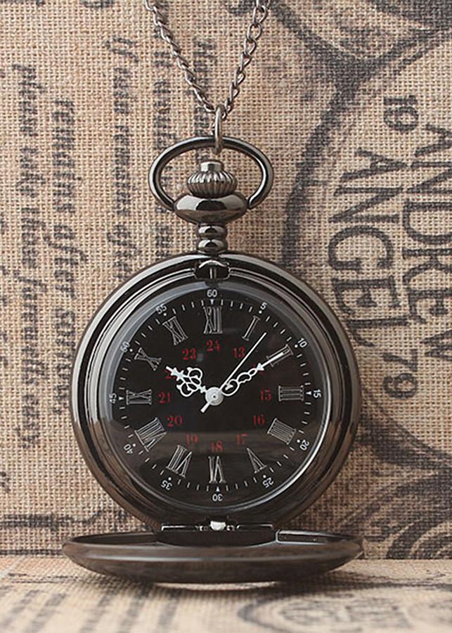 Đồng hồ quả quýt đen trơn: Thiết kế hoài cổ - Lịch lãm