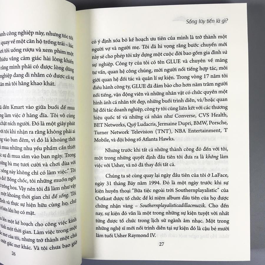 Sống Lũy Tiến - Đừng Dành 100% Thời Gian Cho 10% Cấu Thành Con Người Mình (Kèm Bookmark)