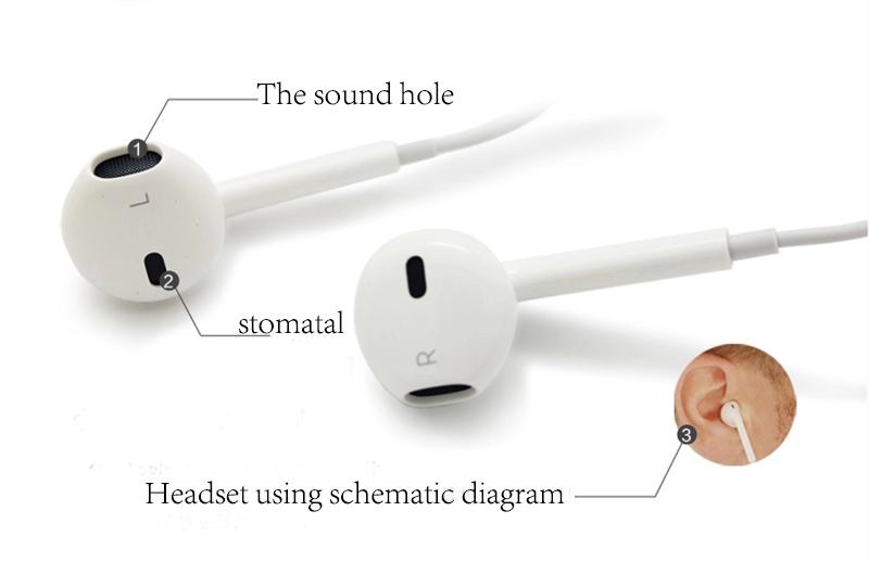 Tai nghe nhét tai dùng cho iPhone 7 CT77 Trắng - Hàng Chính Hãng