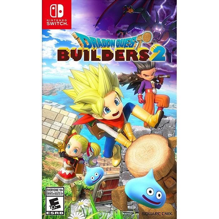 Dragon Quest Builders 2 Cho Máy Nintendo Switch - hàng nhập Khẩu