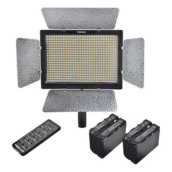 Đèn LED Yongnuo 600 (Đen) - Hàng Nhập Khẩu