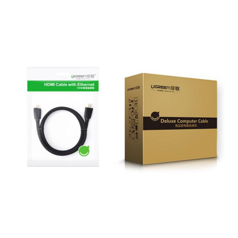 Cáp HDMI 2.0 hỗ trợ 3D , 4K dài 1.5m UGREEN HD118 40409 - Hàng Chính Hãng