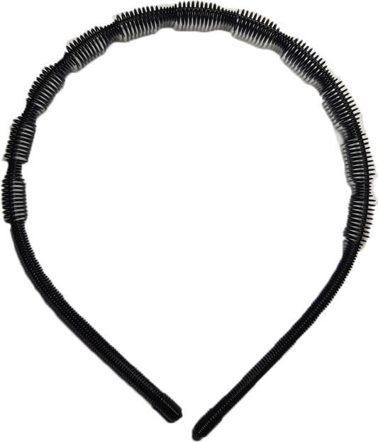 Bờm cài tóc nam nữ bằng sắt siêu bền xoắn hình trụ BV69