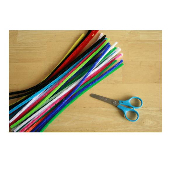 Set 100 que nhung mix các màu sáng tạo - Làm thành các sản phẩm thủ công