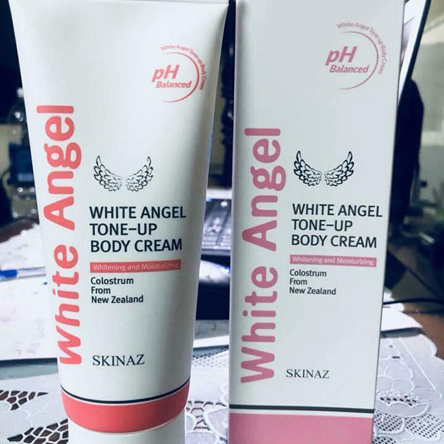Kem Body White Angle Skinaz Hàn Quốc