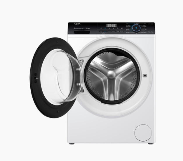 Máy giặt cửa trước Aqua Inverter 8 KG AQD-A800F(W) -Hàng chính hãng (chỉ giao HCM)