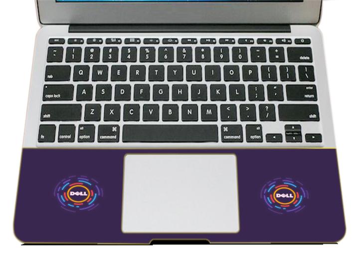 Miếng Dán Trang Trí Mặt Ngoài + Lót Tay Laptop Logo LTLG - 276