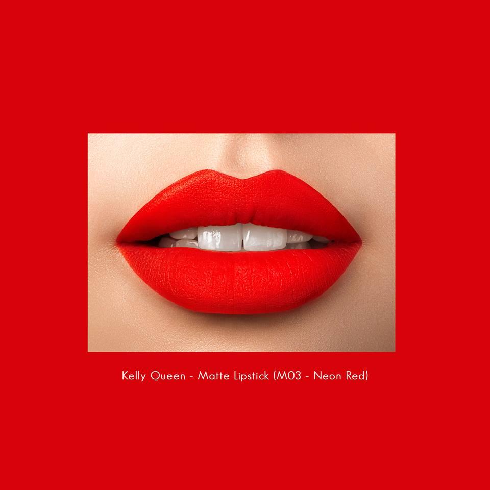 Son kem lì Kelly Queen matte lipstick