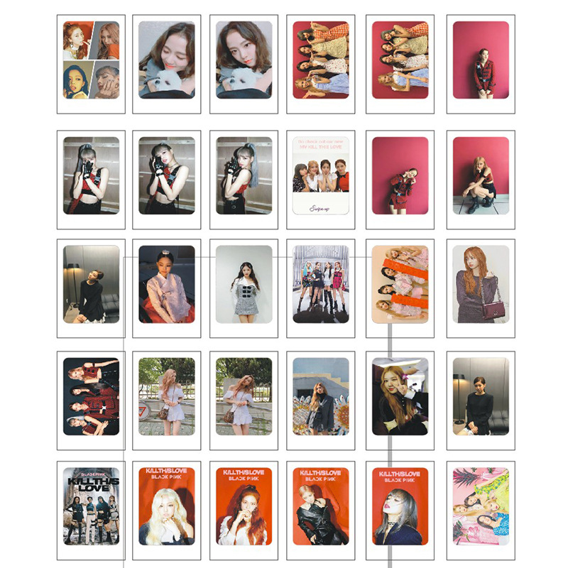 "Lomo card BLACK PINK ""Kill this Love"""