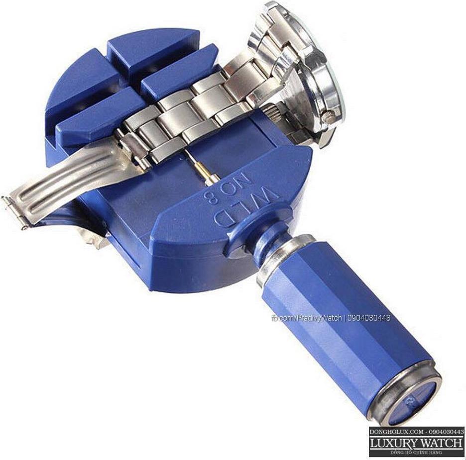 Dụng cụ tháo mắt dây đồng hồ tiện lợi dây kim loại DC12