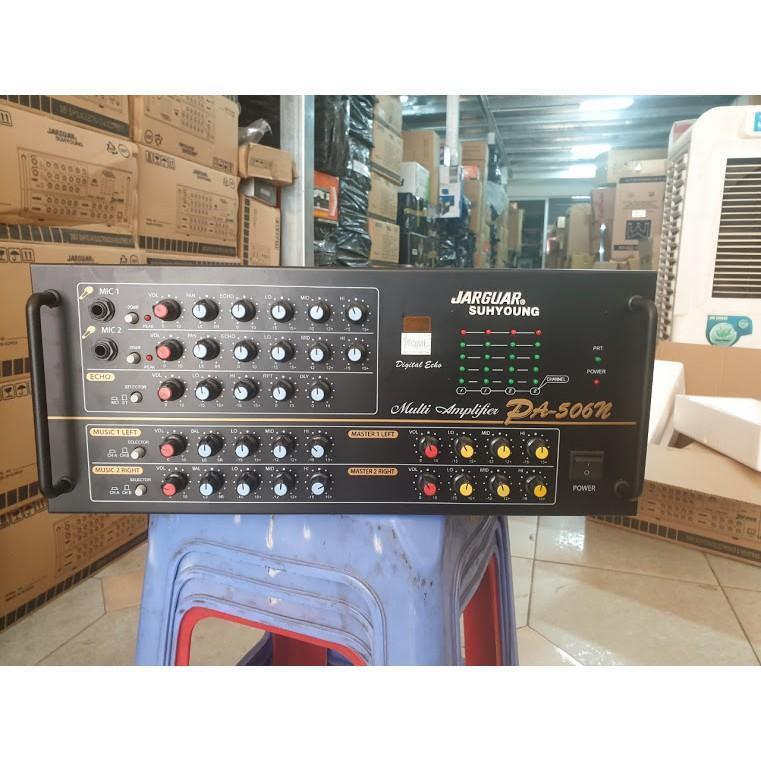 Âm ly karaoke JARGUAR 506N KOMI, Nhập khẩu Hàn quốc, có chống hú mico, 1080W, chất lượng hay.