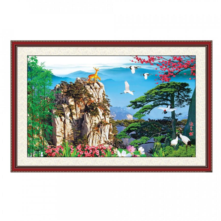 Tranh Nghệ Thuật Phong Thủy Q12K-ZTH(98)