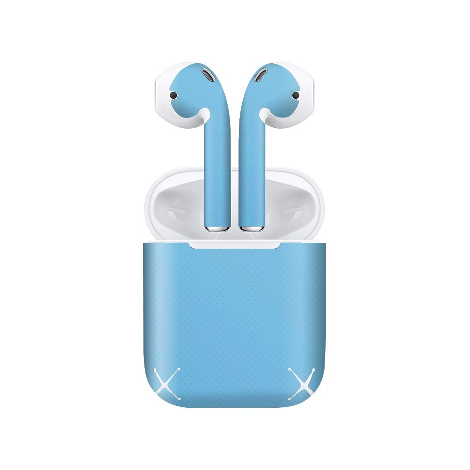 Miếng dán skin chống bẩn cho tai nghe AirPods in hình thiết kế - atk298 (bản không dây 1 và 2)