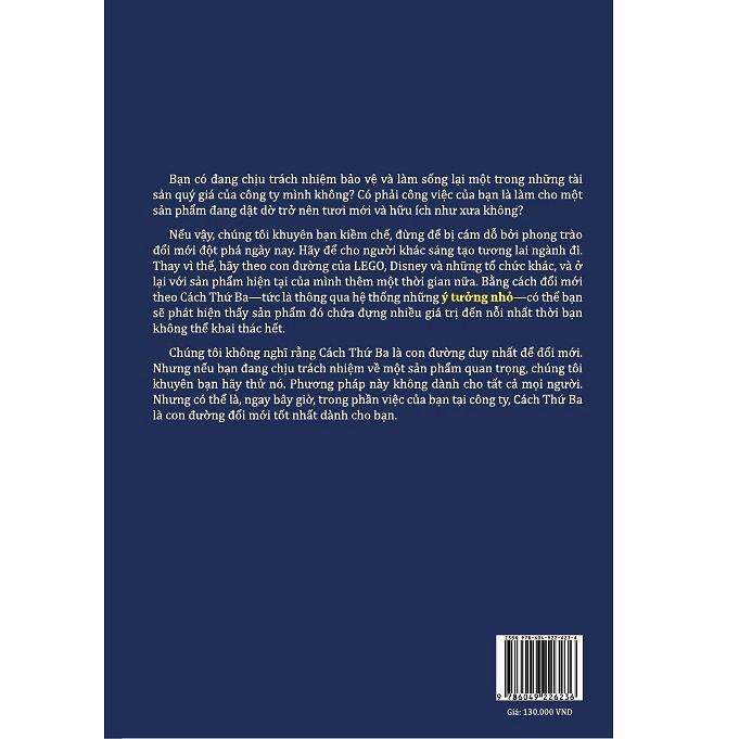 Sức Mạnh Của Những Ý Tưởng Nhỏ - David Robertson & Kent Lineback