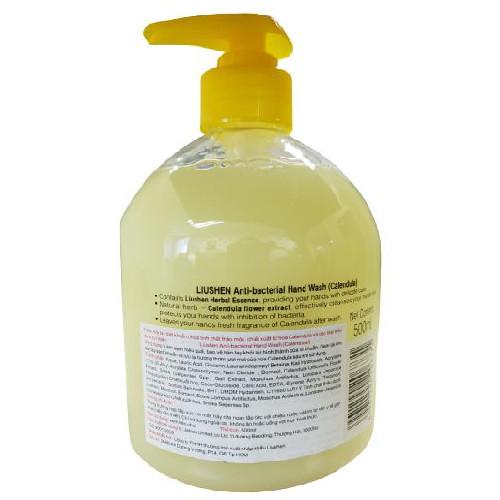 Nước rửa tay LIUSHEN diệt khuẩn dung tích 500ml