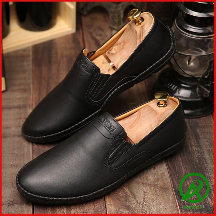 Giày lười nam Boss da mềm chất đẹp - M587