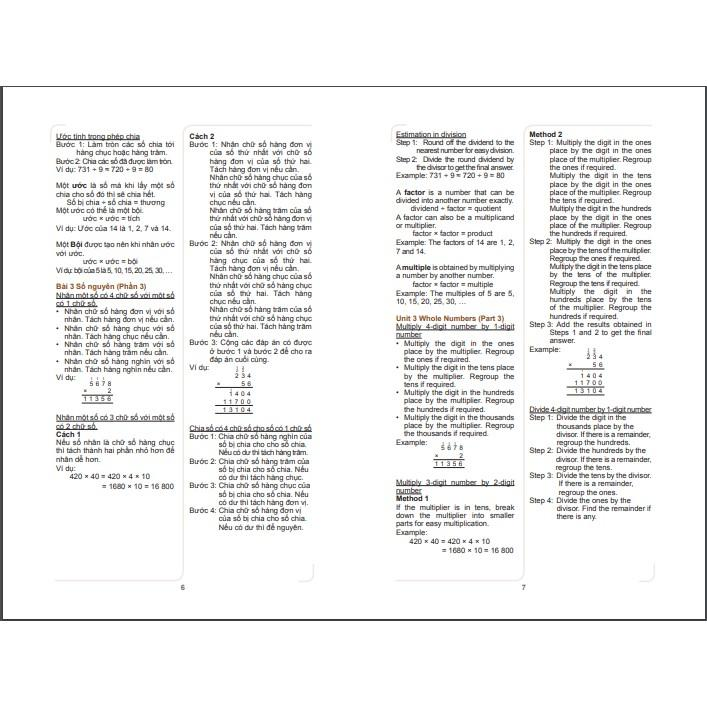 Sách: Toán Tài Năng 3 - Toán lớp 3  Bộ 2 cuốn