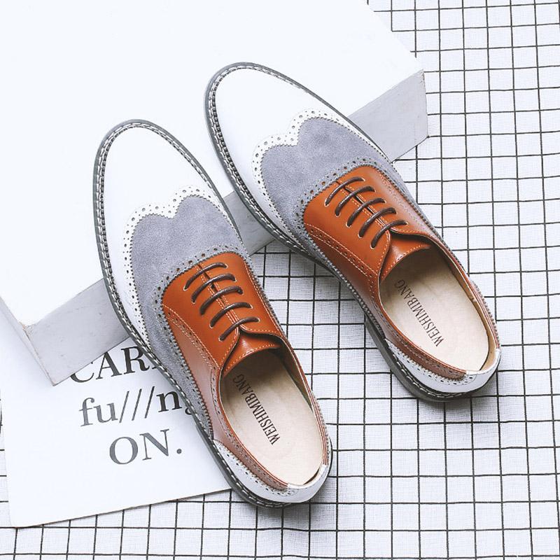 Giày da công sở giày tây big size cỡ lớn cho nam cao to - GT033