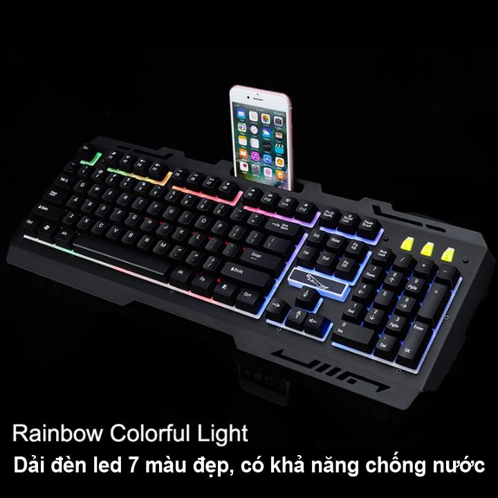Bộ bàn phím kèm chuột g700 dành cho game thủ - Màu ngẫu nhiên - Hàng nhập khẩu