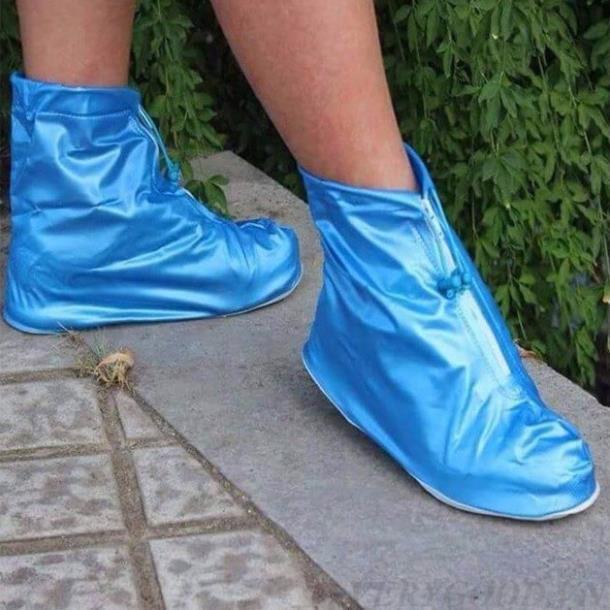 áo mưa trùm giày, siêu bền