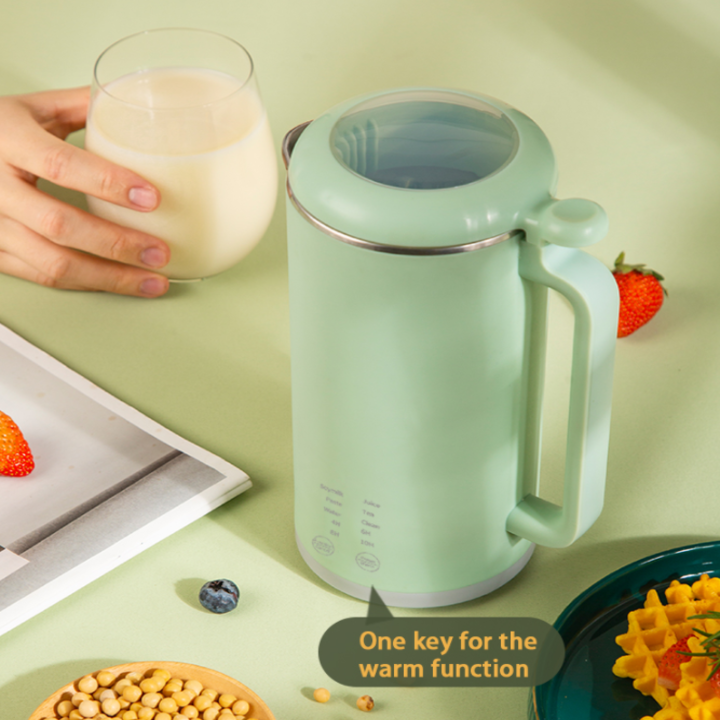 Máy làm sữa hạt, Xay sinh tố, Nấu cháo, Pha trà, Đun nước sôi tích hợp chế độ hẹn giờ HB-B12
