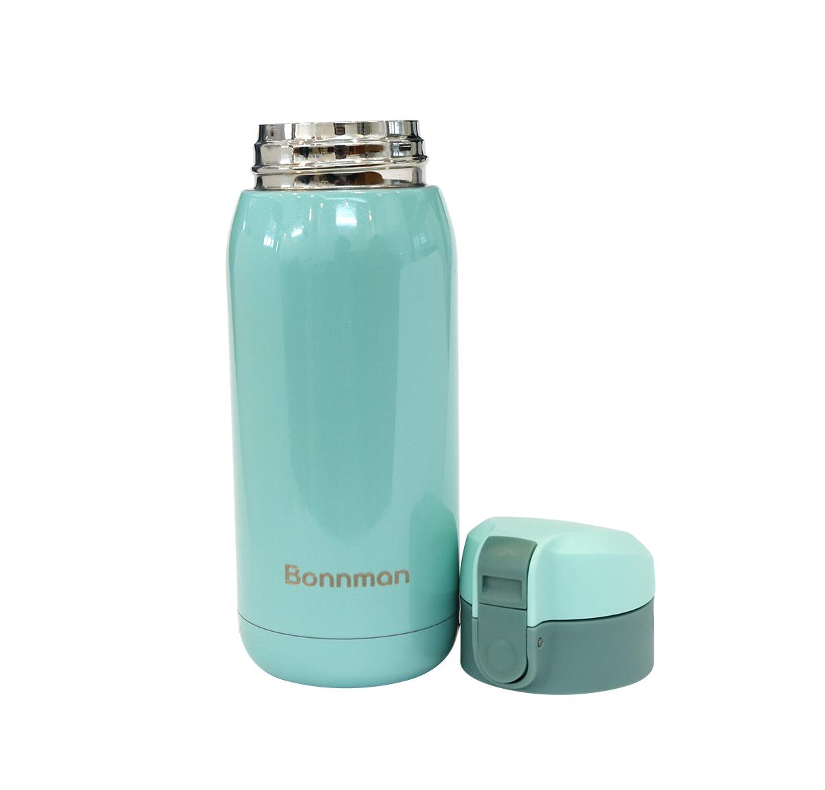 Bình giữ nhiệt inox 304 dung tích 360ml màu xanh ngọc, chất liệu an toàn, không gỉ, giữ nhiệt cực lâu trên 10 giờ