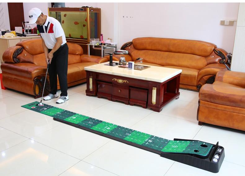 Thảm nhung tập putting golf 300x40cm