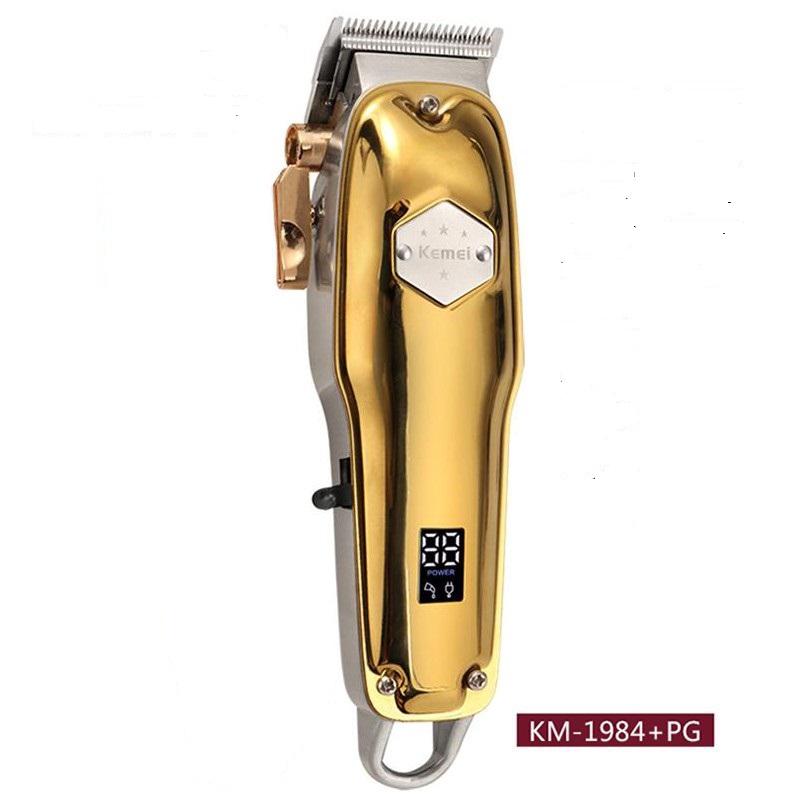 Tông đơ cắt tóc chuyên nghiệp công suất 5w kemei KM1984+PG