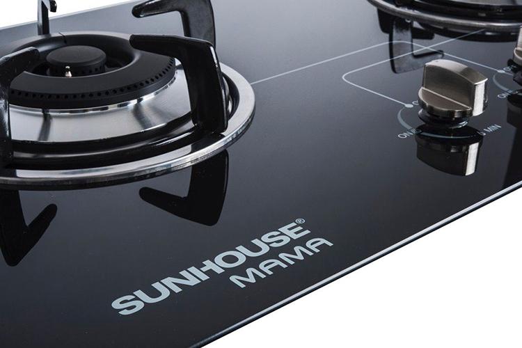 Bếp Gas Âm Đôi Mặt Kính Sunhouse - MMB6632 - Hàng chính hãng